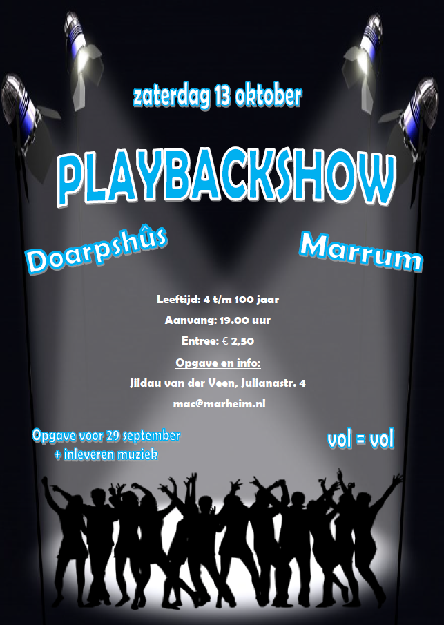 Playbackshow 2018